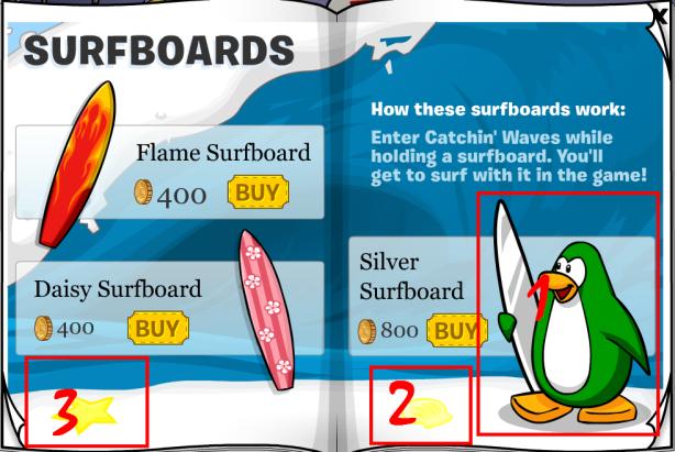 silver-surf-board