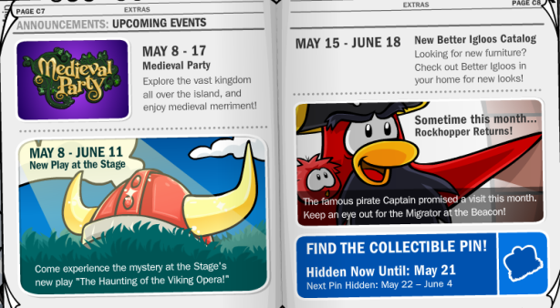 Events in Penguin Times #187
