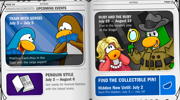 Events in Penguin Times #194