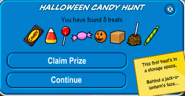 Candy Hunt Finished